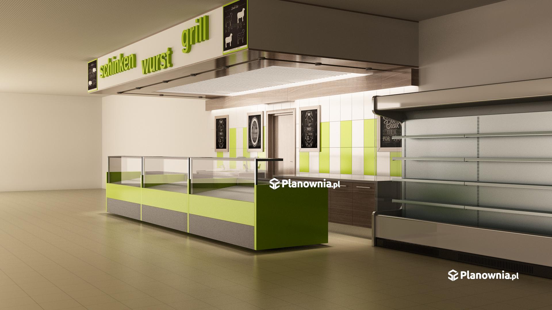 Modernistyczne Projektowanie sklepów spożywczych, odzieżowych, budowlanych, drogerii ZW53