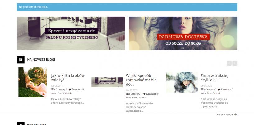 Projekty sklepów internetowych